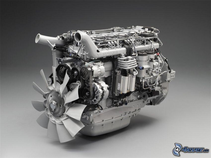 moteur, Scania