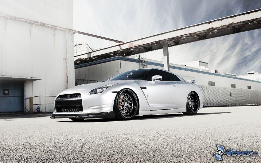 Nissan GT-R, l'usine