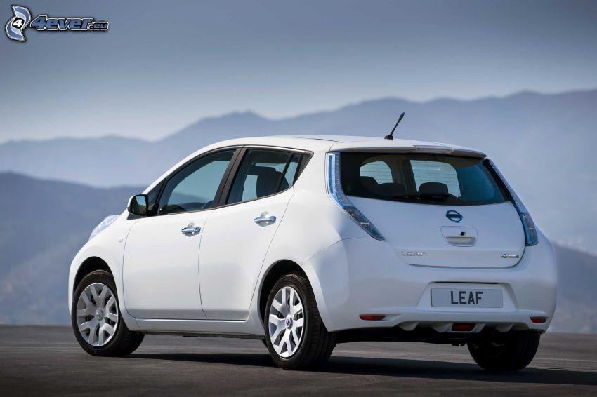Nissan Leaf, montagne