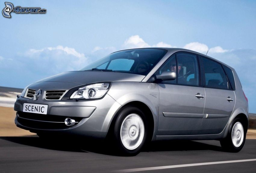 Renault Scénic, la vitesse