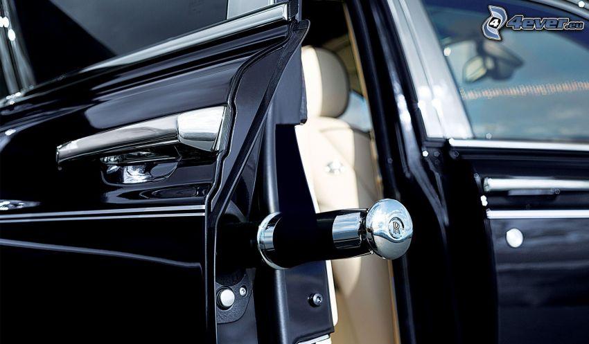 Rolls Royce, porte, la poignée