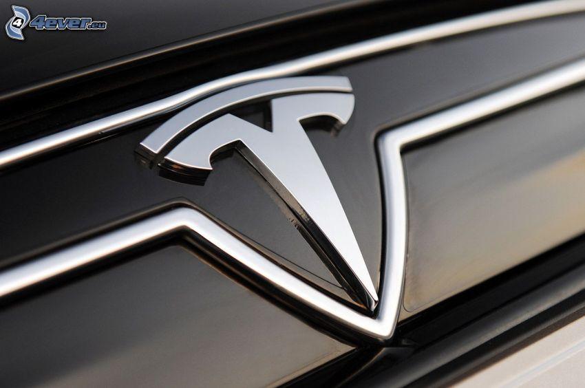 Tesla Model S, logo