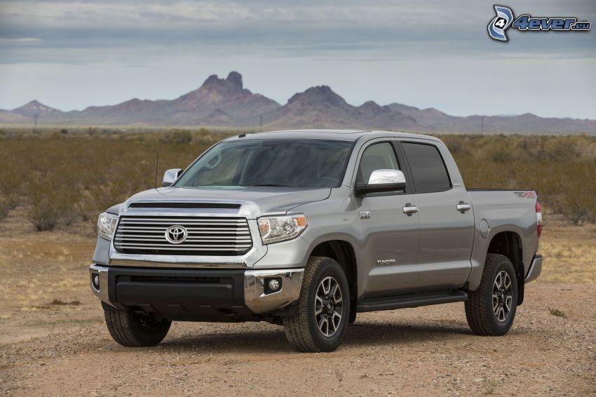 Toyota Tundra, montagne