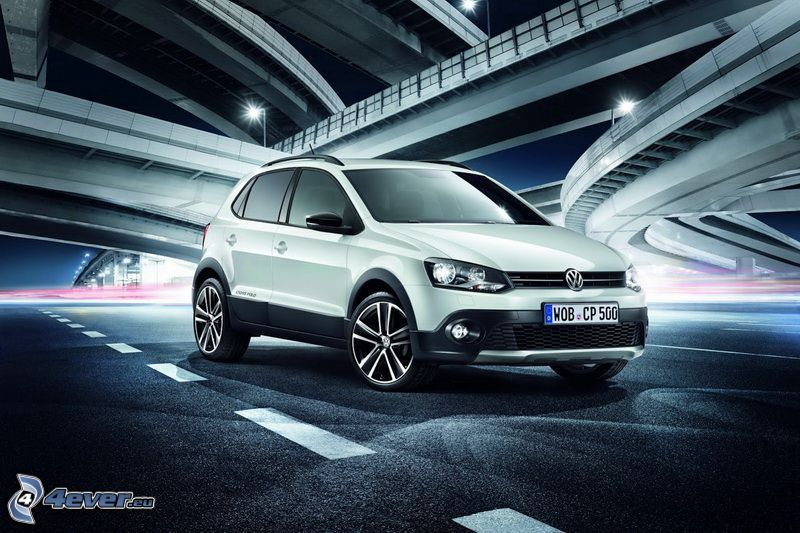 Volkswagen Cross Polo, ponts