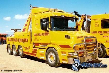 camion, tracteur routier