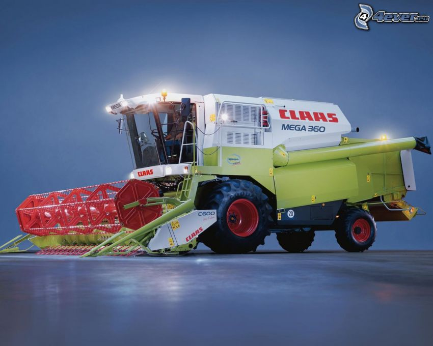 Claas Mega 360, moissonneuse-batteuse