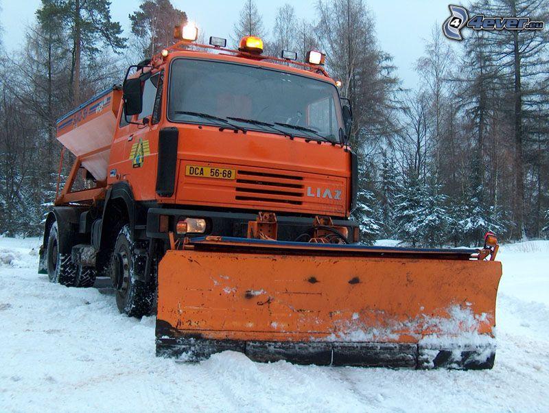 Liaz, chasse-neige