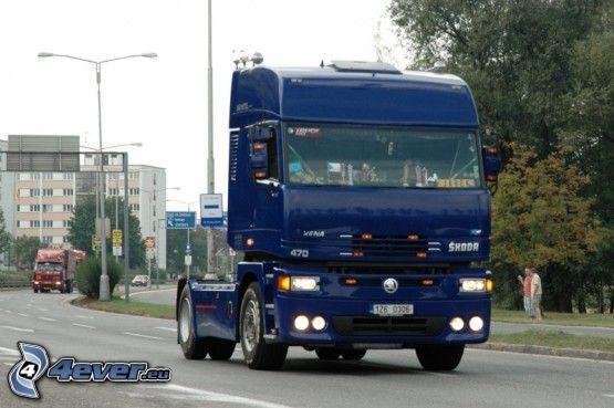 Škoda, camion