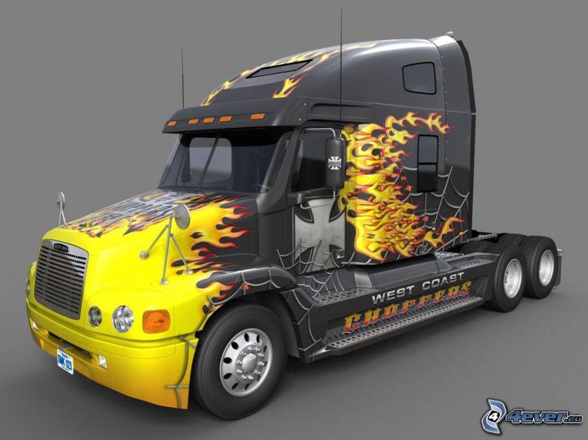tracteur routier