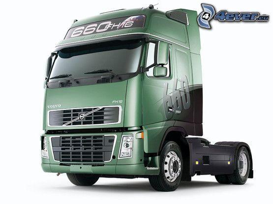 Volvo, tracteur routier
