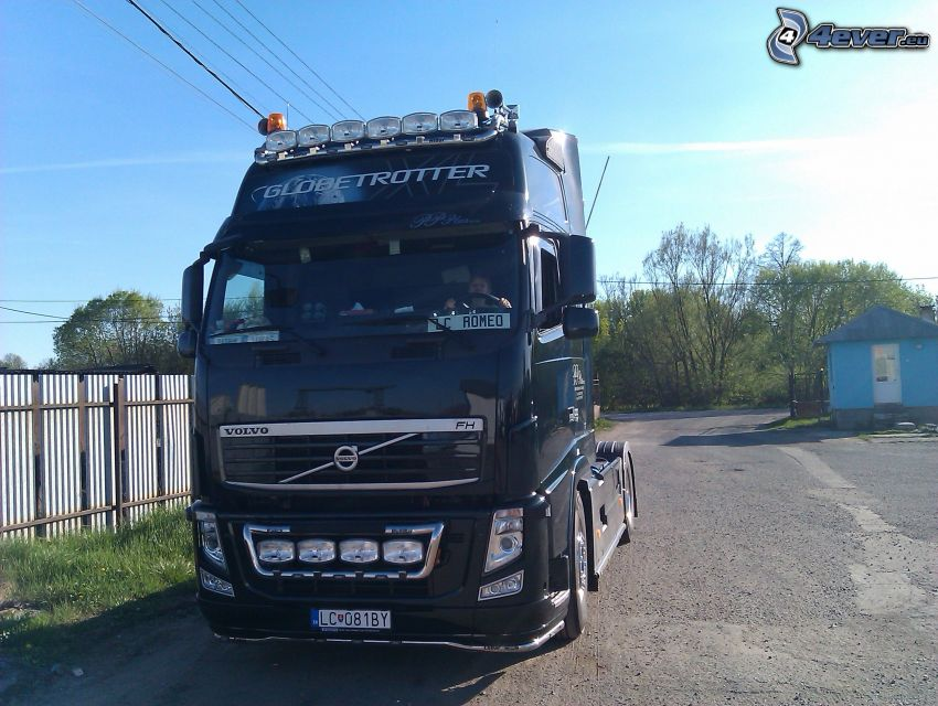 Volvo 500, Globetrotter, camion, tracteur routier