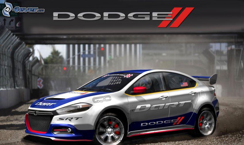 Dodge, voiture de course