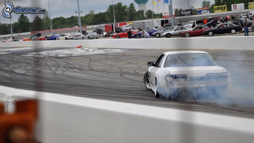 drift, fumée