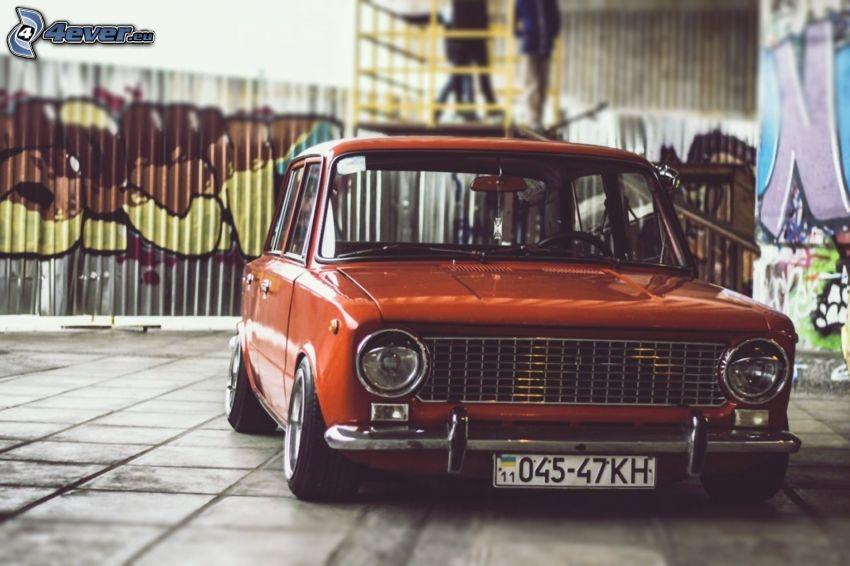 Lada, lowrider, automobile de collection