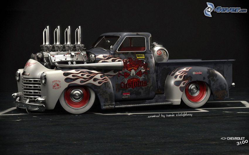 Chevrolet, pickup truck, Big Block