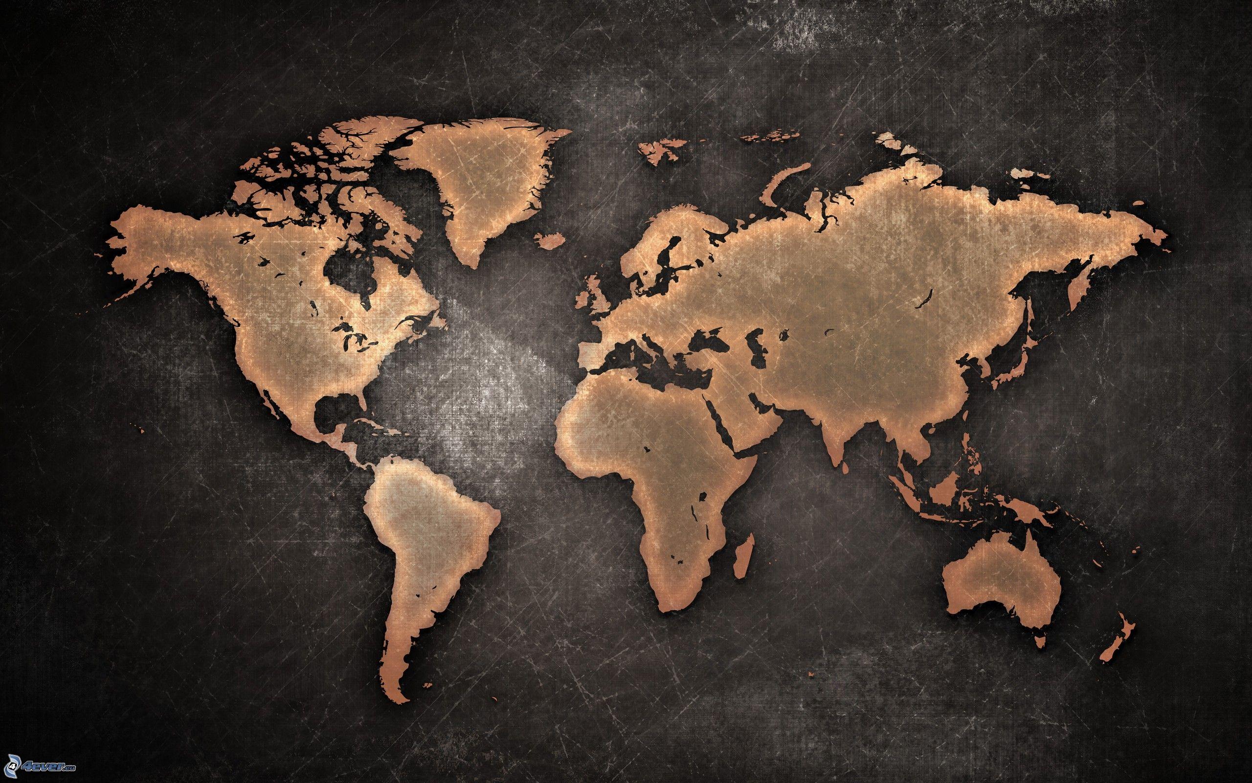 Dessin D Une Carte Du Monde | casamagenta