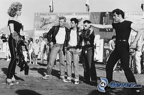 Grease, John Travolta, Olivia Newton-John