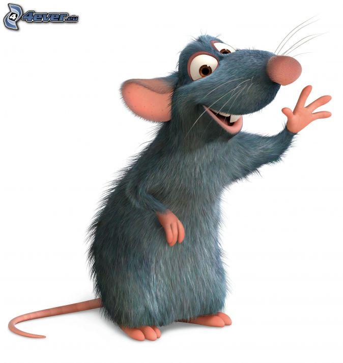 Remi , Ratatouille , topo , cuoco