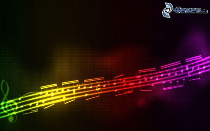 Colori di arcobaleno - Immagini violino a colori ...