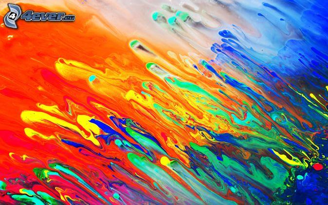 macchie colorate, sfondo astratto