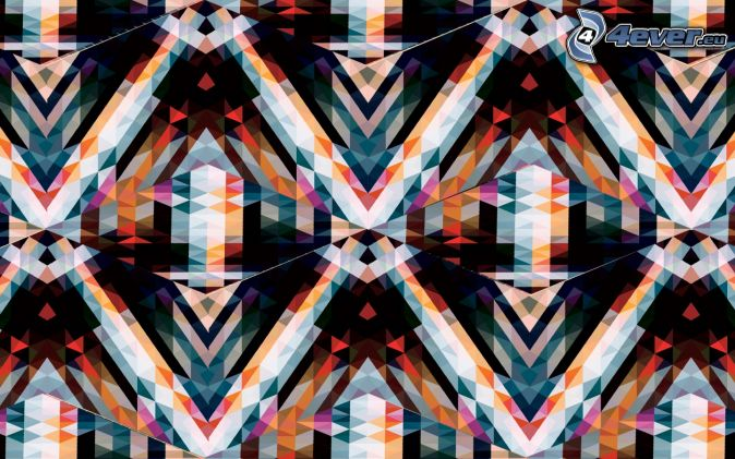 triangoli astratti