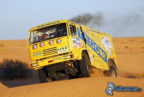 camion paris dakar e campionato  super truk Liaz,-dakar,-camion-139267