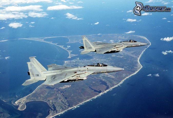 Aereo Da Caccia F15 : Squadron f eagle