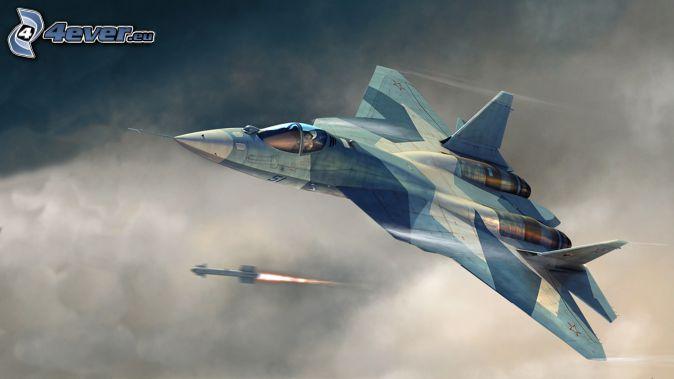 Sukhoi PAK FA, fucileria