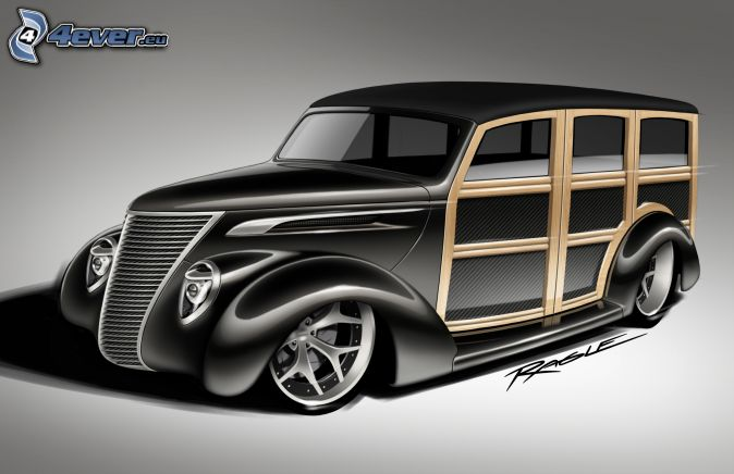Ford Woody, veicolo d'epoca