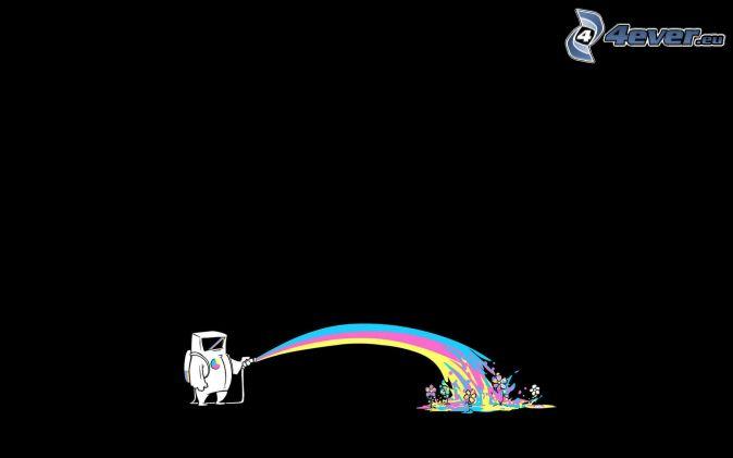 Acqua - Animali dei cartoni animati a colori ...