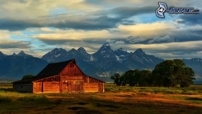 Parco nazionale del grand teton for Piani di fattoria americana