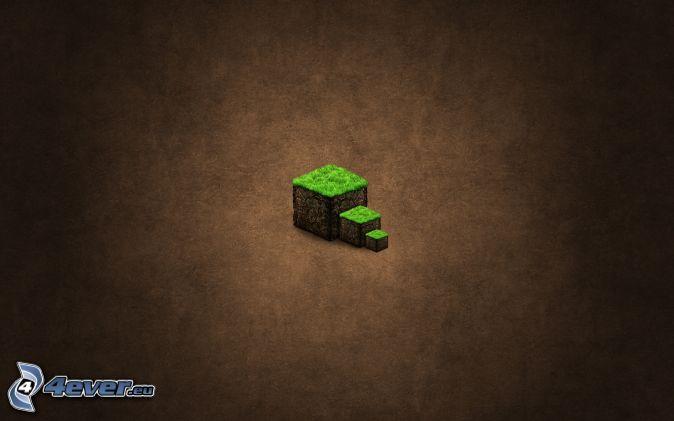 Minecraft , cubi