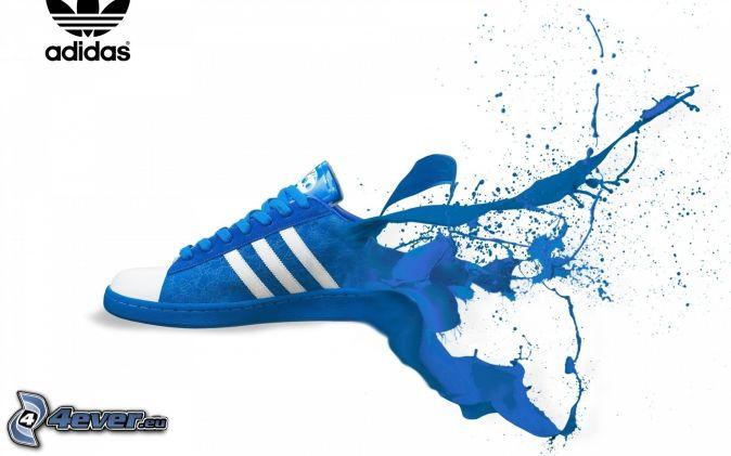 Colore blu for Adidas che cambiano colore
