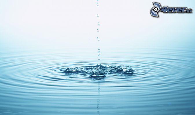 goccia, acque di superficie