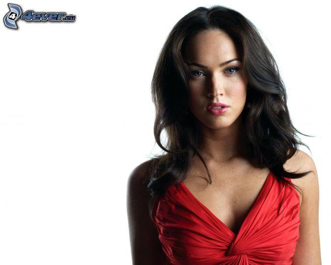 Megan Fox, vestito rosso