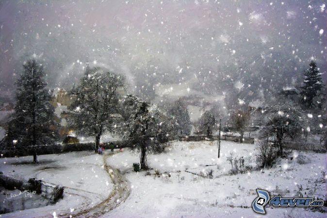 Parco nevoso