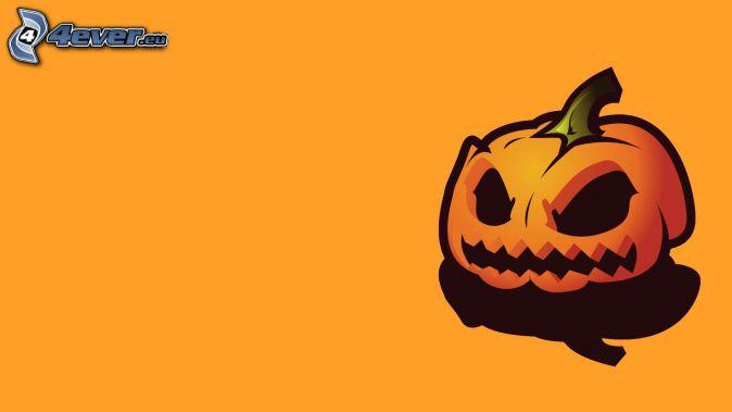 Zucca di Halloween, cartone animato