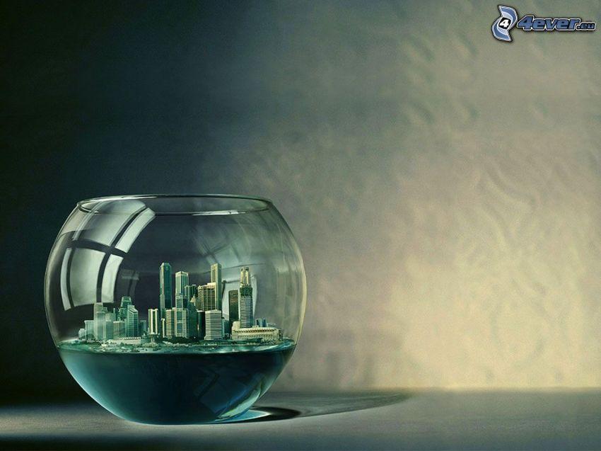 acquario, città