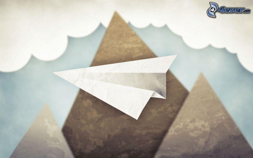 aereo di carta