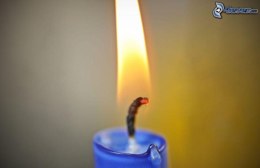 candela, fiamma