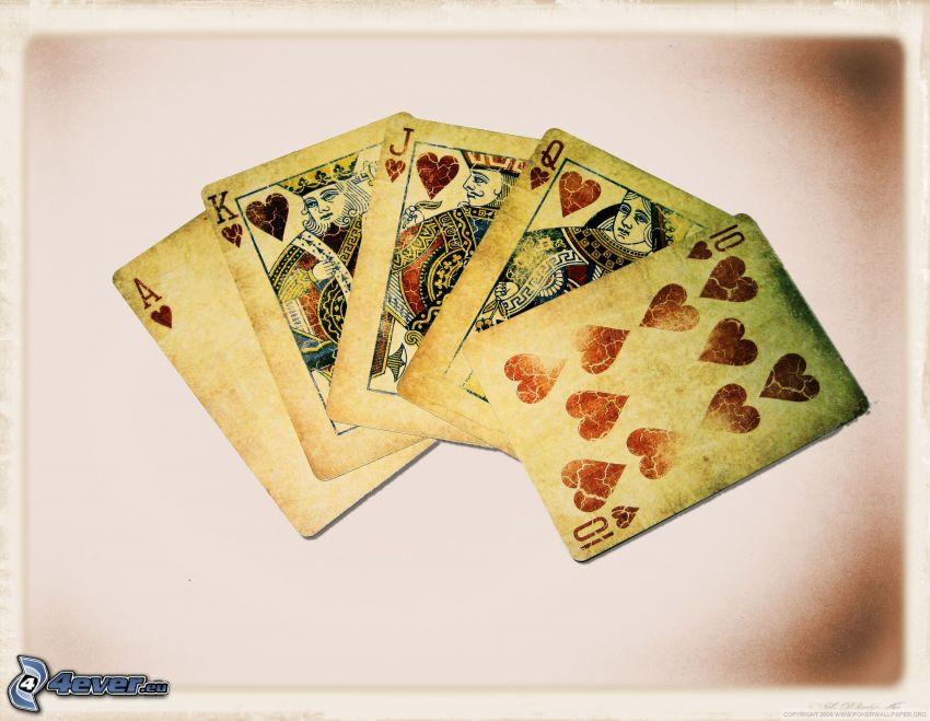 carte, poker