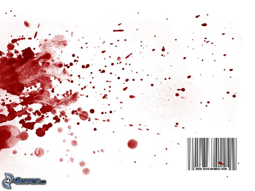 codice a barre, sangue