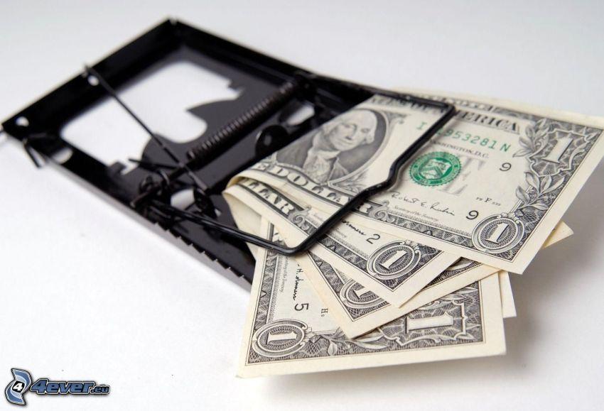 dollari, trappola
