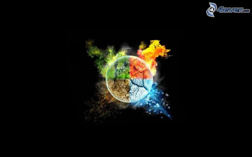 elementi, stagioni