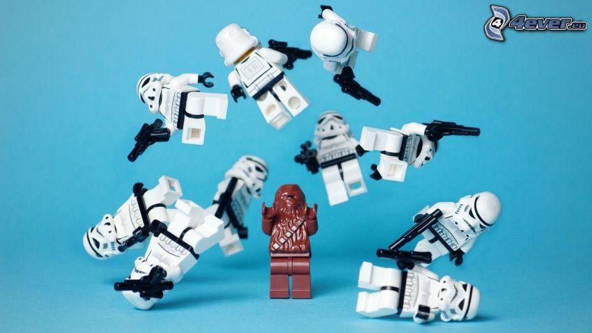 figurini, robot