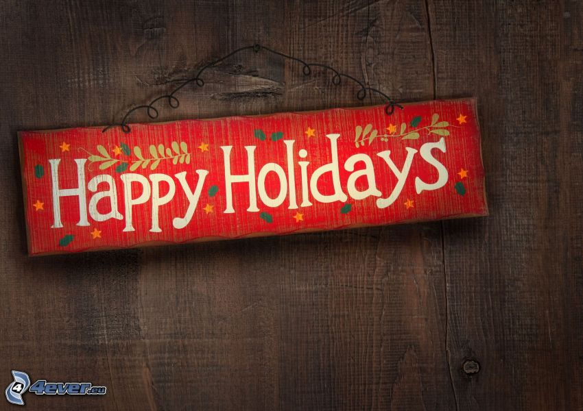 Happy Holidays, segno