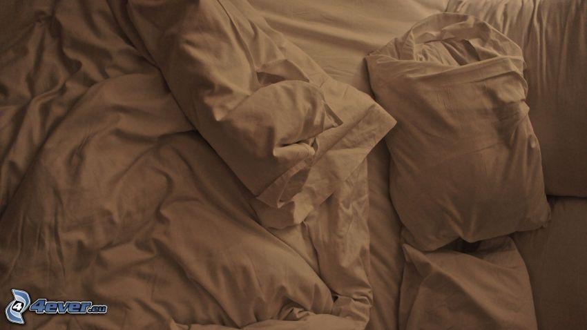 letto, cuscini