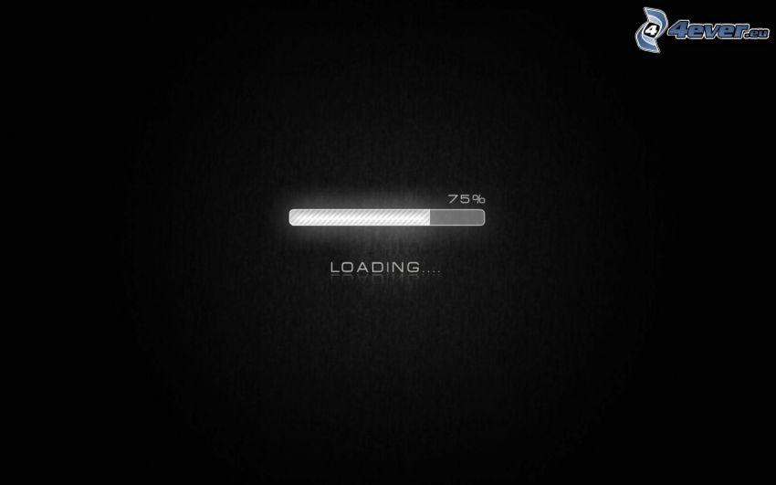 loading, 75%