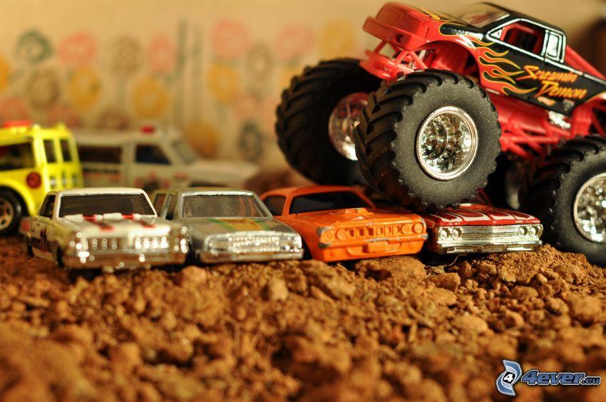 monster truck, auto