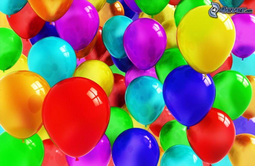 palloncini, colori